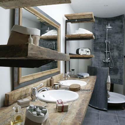 Ecowonen eco badkamertrends voor 2016 - Hout in de badkamer ...