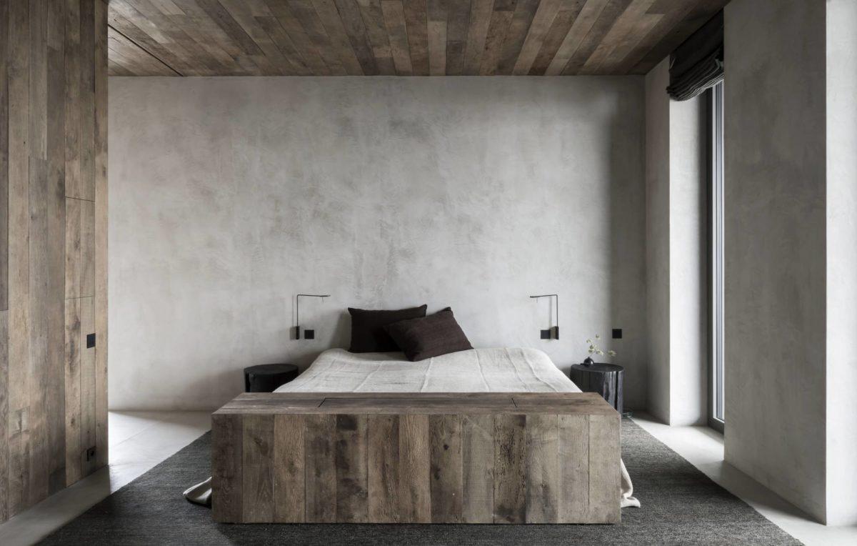 kalkverf slaapkamer