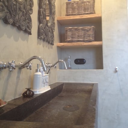 Stucdeco badkamer in Didam | Ecowonen