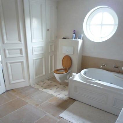 tadelakt badkamer vloer: hammam badkamer., Badkamer